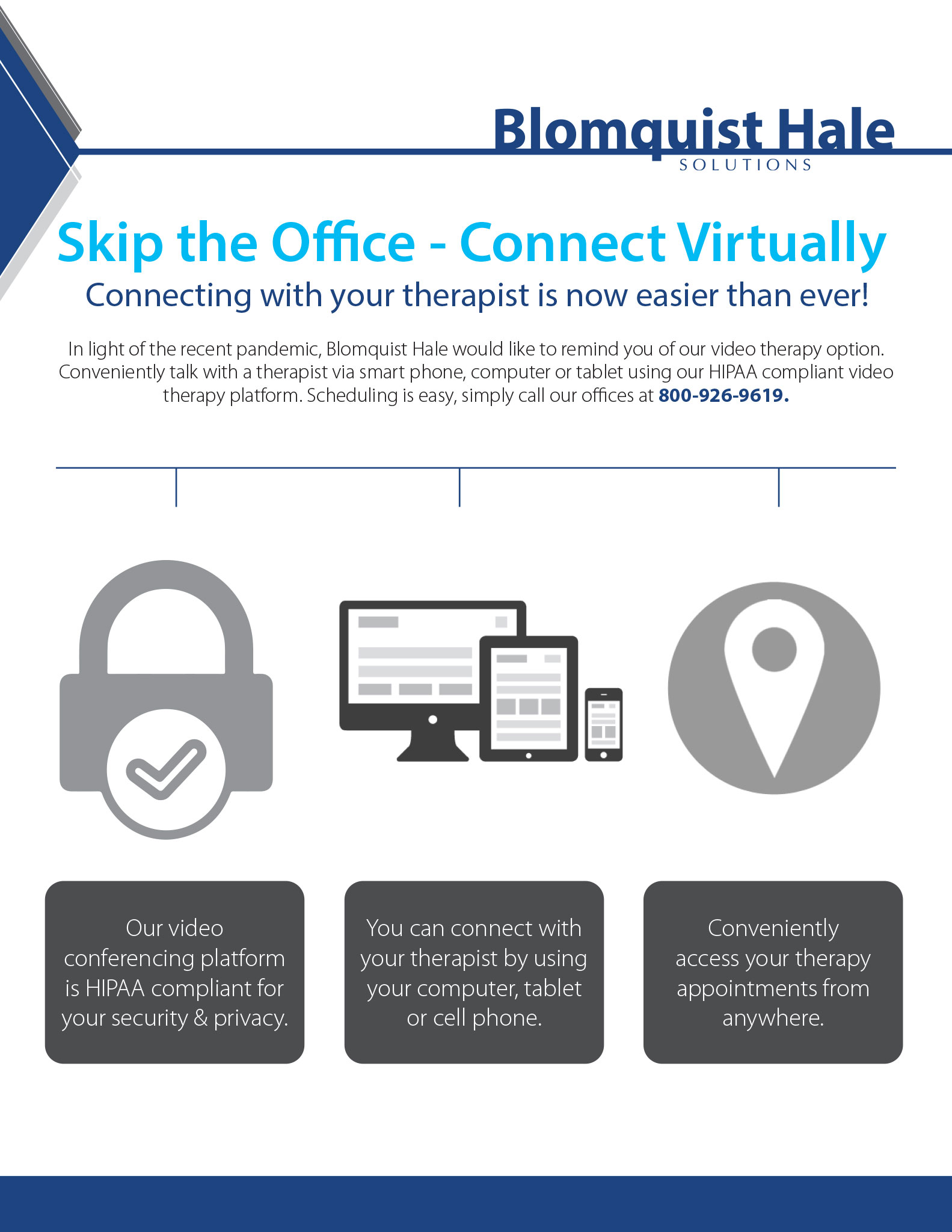 Skip the Office - Connect Virtually